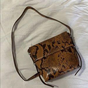 3/$40 SNAKESKIN BAG 🤎